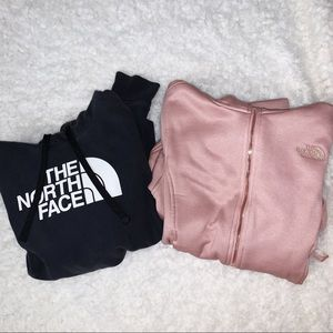 The North Face Hoodie+Jacket bundle